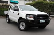 2015 Ford Ranger PX MkII XL Double Cab Cool White 6 Speed Manual Cab Chassis Acacia Ridge Brisbane South West Preview