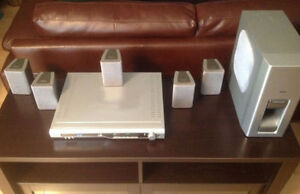 DVD home theater system and speakers