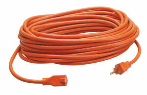 HEAVY DUTY EXTENSION INDOOR/OUTDOOR CORD FOR LAWN MOWERS
