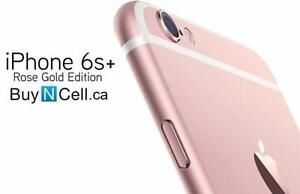 BRAND NEW  iPHONE 6S PLUS 64GB ROSE GOLD + WARRANTY