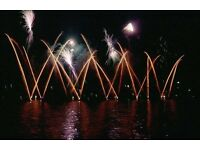 Wedding musical firework displays