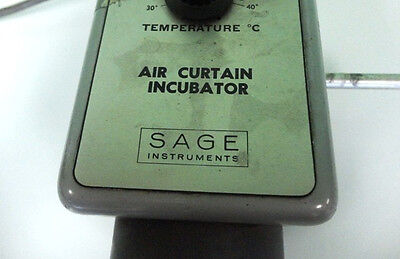Sage Instruments Air Curtain Incubator Model 279 Used Works