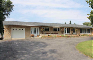 Beautiful Bungalow With 6 Brs, 2 Kitchens, Pool and 4 Acre Lot