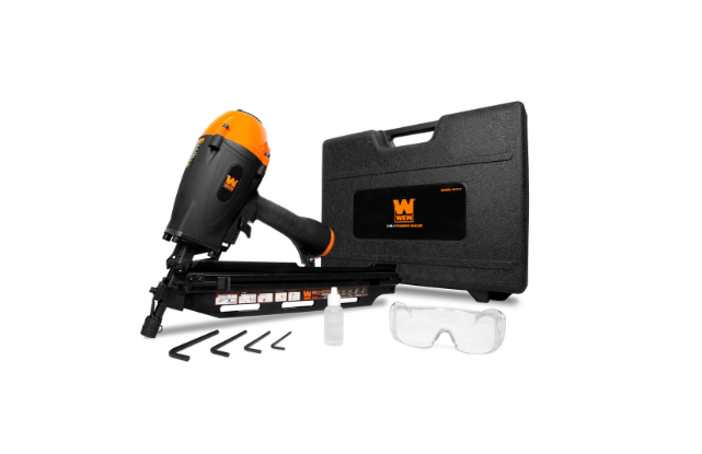 Wen 3 in 1 Pneumatic Air Compressor Power Tool Collated Fram