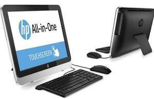 HP 21.5 Touchscreen All-in-One PC with Intel Core i3-4130T CPU, 8GB RAM, and 1TB HDD (Manufacturer Refurbished)