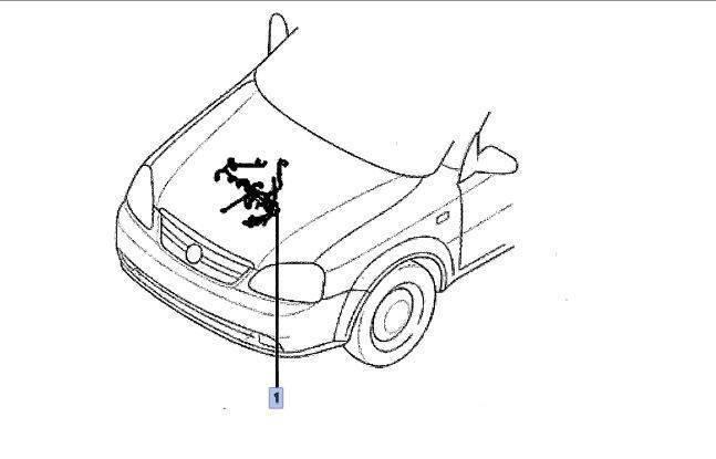 Engine Wiring Harness Holden Barina Tk