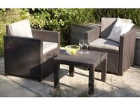 New Garden Patio Decking or Conservatory Set. New in Box.