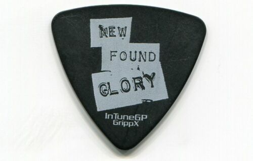 NEW FOUND GLORY Concert Tour Guitar Pick!!! IAN GRUSHKA custom stage Pick #2