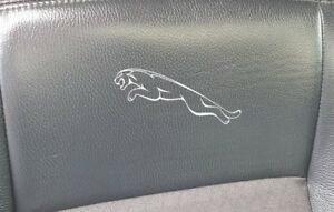 6X JAGUAR LEAPER X TYPE XF S TYPE BADGES LOGO car stickers decals vinyl EMBLEMS