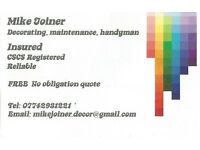 decorating and property maintenance