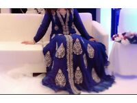 indian/pakistani designer gown,was £1200