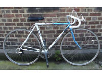 Vintage road bike GIANT with classic steel frame size 20inch /50cm MAVIC -12 speed serviced WARRANTY