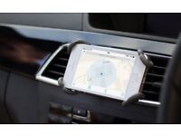 Flexible mobile phone holder - fits all phones and cars!