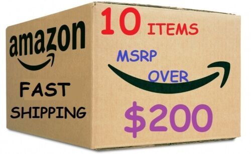 Lot of 10 Items Amazon Returns Wholesale Lot, Mixed lot Reseller MSRP $200 VALUE