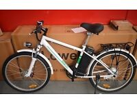 Lowebike Power Plus Electric Push Bike with Pedal Assist