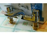 New Ideal Standard Vectis 2 Tap Hole Bath Taps