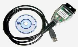 BMW USB to OBD2 Cable K+DCAN Scan Code & Coding