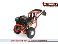 Proplus 7hp petrol pressure washer & pump 210 bar 3000psi lifts from barrel