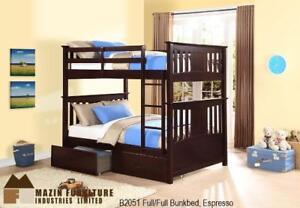 Double over Double Bunk Bed (MA317)
