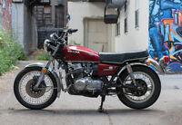 1976 Honda CB750 restored