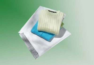 50 - 7.5 X 10.5 White Poly Mailers No Bubble - Lower Price