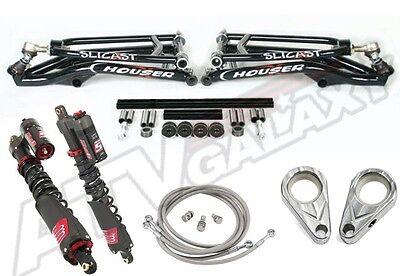 Houser A-arms Elka Long Travel Shocks Stage 5 Suspension MX Kit Yamaha YFZ450R
