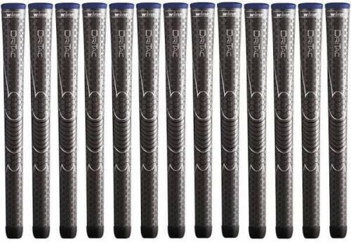 """Winn Dri-Tac Midsize (+1/16"""") Dark Gray DriTac - 13 Pieces Golf Grips  - NEW!"""