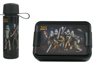 STAR WARS Rebels Brotbox+Trinkflasche Vesperbox Brotbüchse Lunchbox