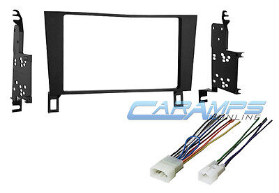 DOUBLE 2 DIN CAR STEREO RADIO INSTALL KIT W WIRING FITS 1990-1994 LEXUS - 2 Din Install Kit