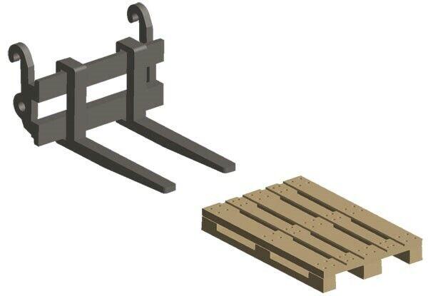 NZG NZG936 Pallet Handler & Forks