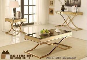 GOLDEN COFFEE TABLE ON SALE (ND 30)