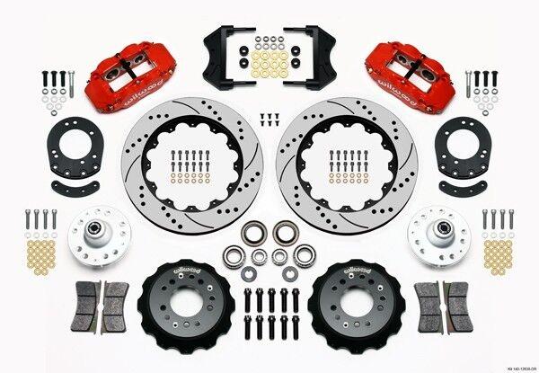 Wilwood Superlite 6R 140-9801-d & 140-10012-d rear kit
