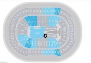 Sam Smith The Thrill of It All Tour Lower Bowl Sec 106 ROW 1