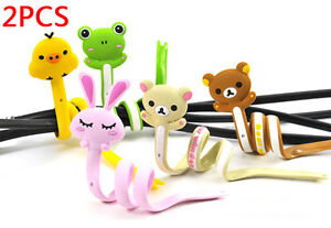 2Pcs-Cute-Lovely-Animals-Series-Strips-Headphone-Cable-Winder-Manage-Organizer