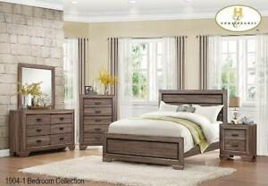 Brown Queen 8 PC Bedroom Furniture (MA717)