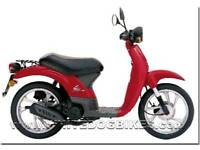 Honda sky registered as 50cc, 70 cc kit with only 300miles on it.