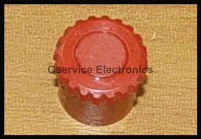 4 Pcs Tektronix Knob Red For Order Test Equipment