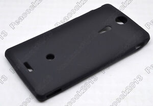 Black Matting TPU Silicone CASE Cover For Sony Xperia TX LT29i