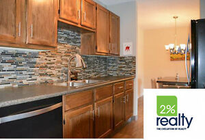 Renovated 2 Bedroom Condo - Listed by 2% Realty Inc.