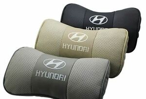 brand new Leather Pillow Car Accessories For Hyundai pair