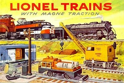 1956 LIONEL TRAINS CONSUMER CATALOG MINT NR