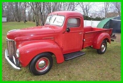 1949 International Harvester Pickup Truck 1949 International Pickup Truck Rebuilt 214 Green Diamond Flat 6 4-Speed 2WD