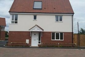 2 Bed New Build East Harling, looking to exchange for 3 bed in/near Thetford