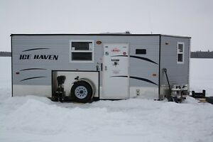 For sale Ice Haven ice fishing trailer