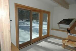 9' Pella Patio Door - Great for Cottage or Hunt Camp