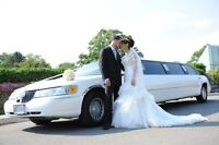 Limo for Wedding, Airport, winery Tour or anywhere 25% off now