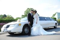 Limousines for wedding ,to and from Airport 25% off now