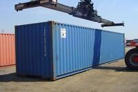 Need a Storage & Sea Shipping Container? Then call us today!
