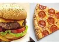 Burger/pizza recipes required