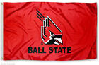 Ball State Cardinals NCAA Flags